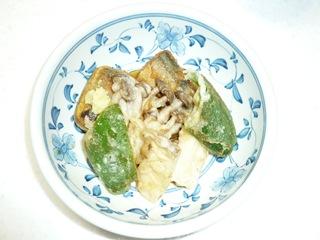 201010月秋刀魚揚げ煮 001
